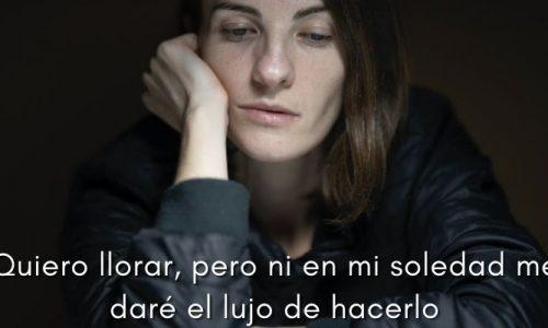 Frases de tristeza | Pensamientos tristes para desahogarte
